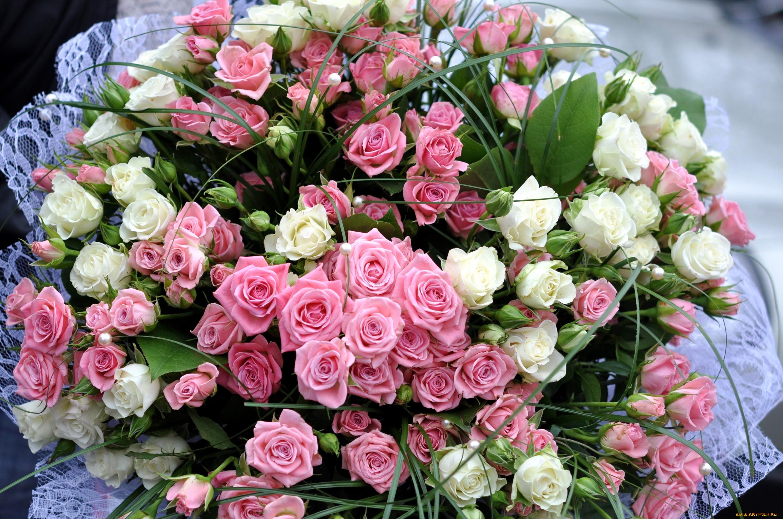 Смотреть открытки букет цветов